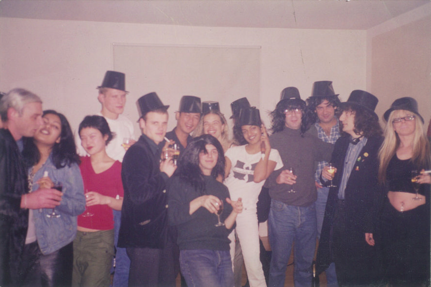 1999 My party for Jerry Sadowitz's new TV series
